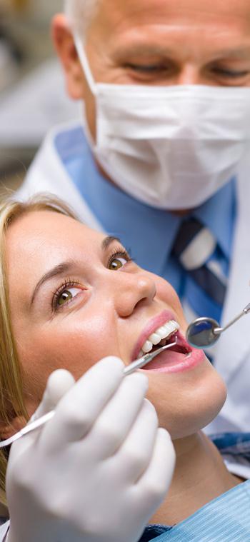 patient receiving dental care image