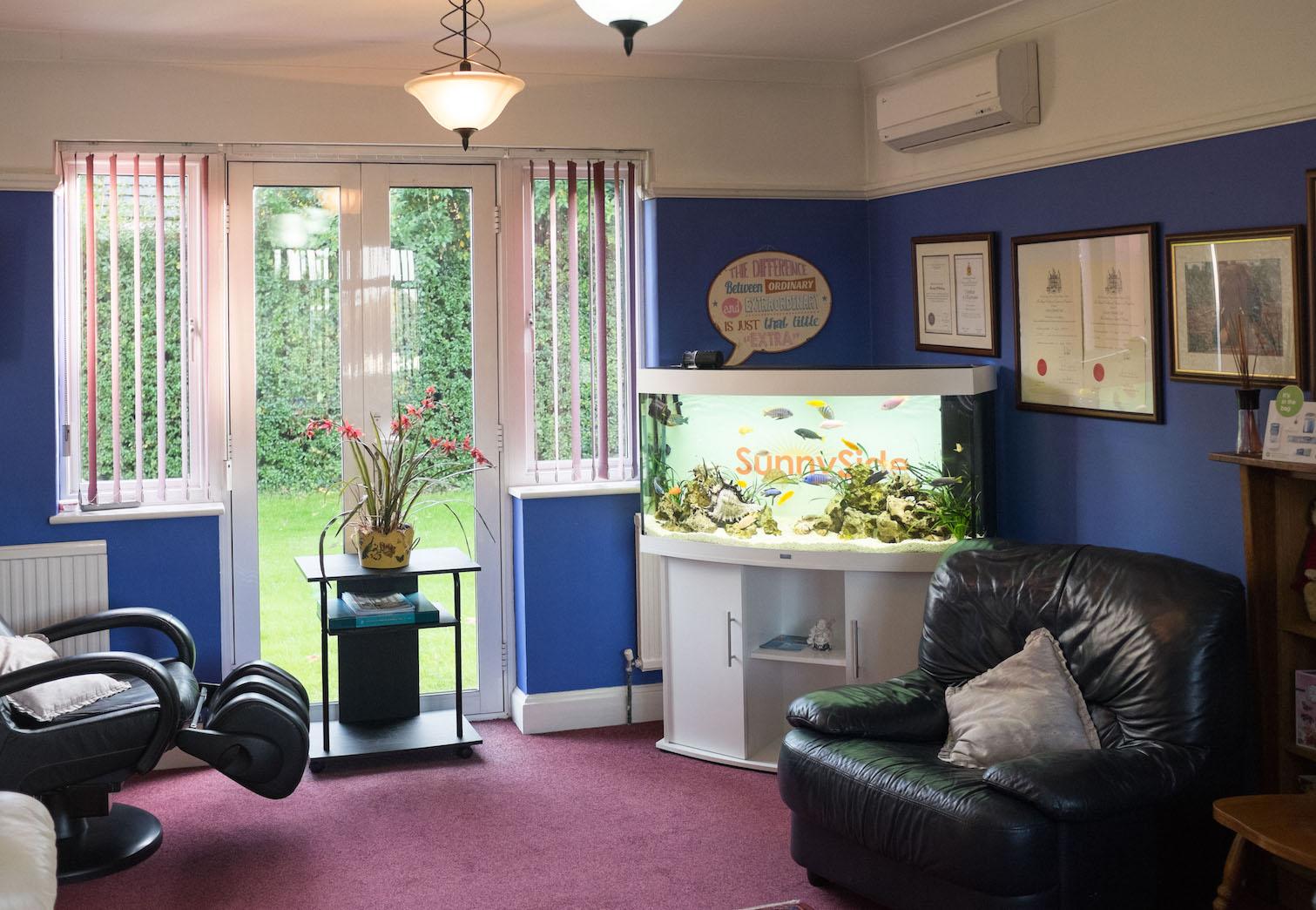 interior image of sunny side dental centre